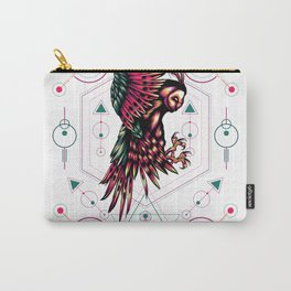 The mythical Owl sacred geometry Carry-All Pouch