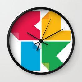 We Spell It B-L-I-K Wall Clock