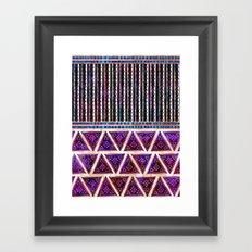 Ava Boho Mix Framed Art Print