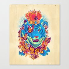 The Siberian Monarch Canvas Print