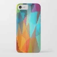 stained glass iPhone & iPod Cases featuring Stained Glass  by Latidra Washington