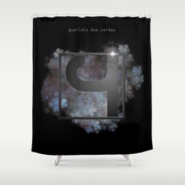 "Vaca - MP: ""Quarteto das Cordas"" Shower Curtain"