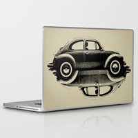 ying yang Laptop & iPad Skins featuring VW Ying and Yang by Vin Zzep
