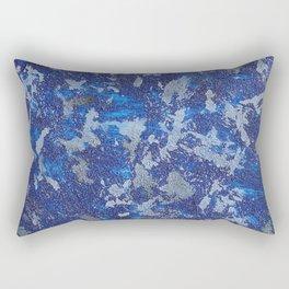 Blues Cosmos #2 Rectangular Pillow