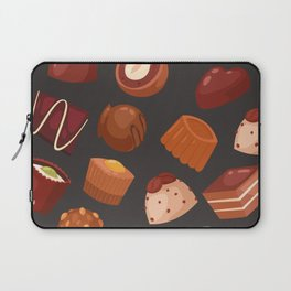 chocolate pattern Laptop Sleeve