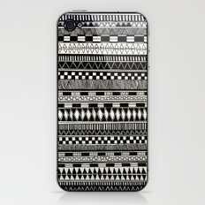 black//white iPhone & iPod Skin