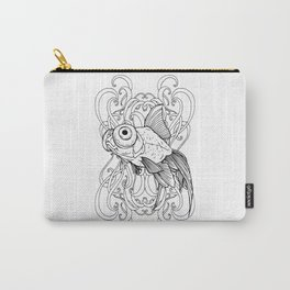 Rising Goldfish Carry-All Pouch