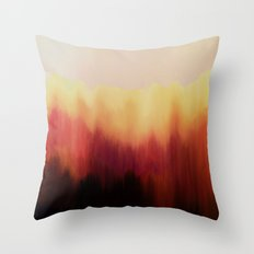 Forest Fire Throw Pillow