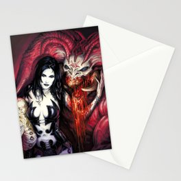 Blood Rituals by BAXA Stationery Cards