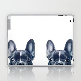 Hand painting French Bulldog Dog illustration original painting print Laptop & iPad Skin