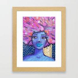 Imagine Girl Framed Art Print
