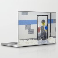 police Laptop & iPad Skins featuring Police Officer by Pedro Nogueira