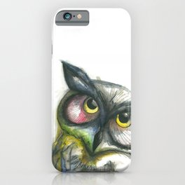 Looking for You_Owl 1 iPhone Case