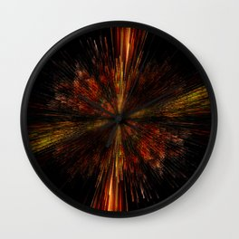 PLANET PIXEL INCEPTION Wall Clock