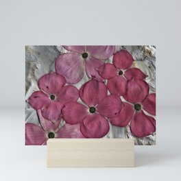 Pink Dogwood Blossoms Mini Art Print