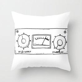 compressor LA-3A Throw Pillow