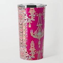 Russian Vintage Print Travel Mug