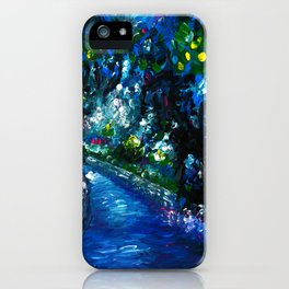 GREENWICH PARK IN LONDON iPhone Case