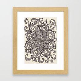zendala of dreams Framed Art Print