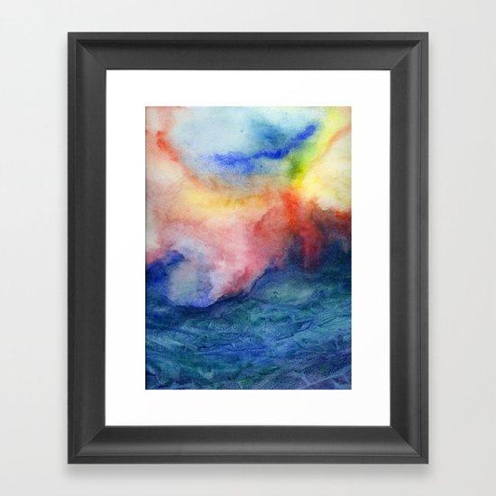 Torrent Framed Art Print