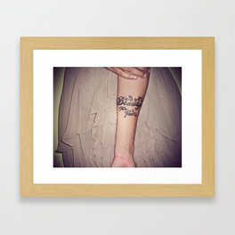 Beauty From Pain Framed Art Print