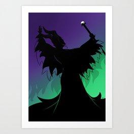 Maleficent Art Prints Society6