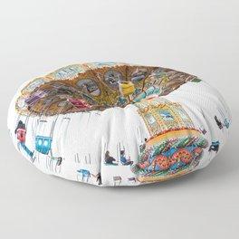 Santa Cruz Tilt A Whirl Floor Pillow