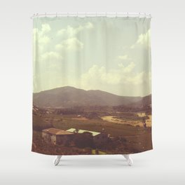Vintage in Taiwan collection #1 Shower Curtain