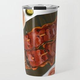 pork bbq Travel Mug