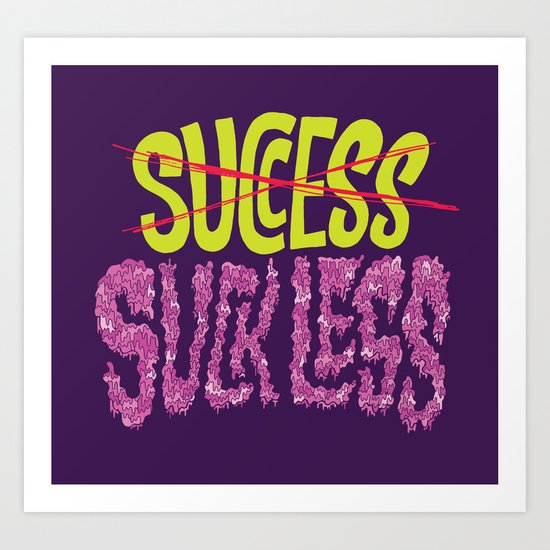 Success.  Art Print