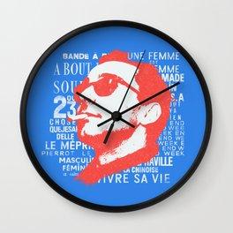 godard Wall Clock