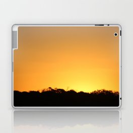 Golden Hour on the Nullarbor Laptop & iPad Skin