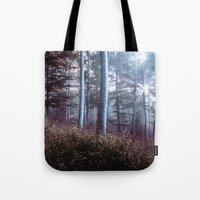 wanderlust Tote Bags featuring Wanderlust by StayWild