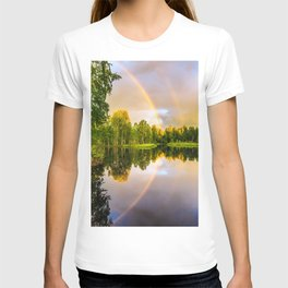 Rainbows: The gift from heaven to us all T-shirt