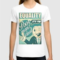 equality T-shirts featuring Equality by Sophie Broyd