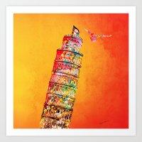 italy Art Prints featuring Italy  by mark ashkenazi