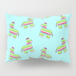 Pinata Pattern Blue Pillow Sham
