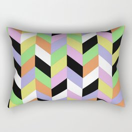 Stacked Colour Rectangular Pillow