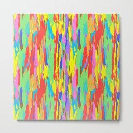 Rainbow Eucalyptus Tree Bark No. 1 Metal Print