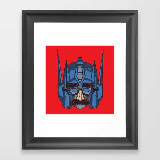 robot in disguies  Framed Art Print