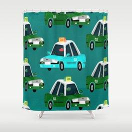 Lantau Taxi Shower Curtain