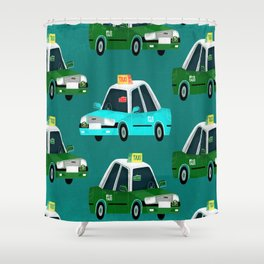 Lantau Taxi Shower Curtain