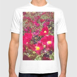 Red Flowers T-shirt