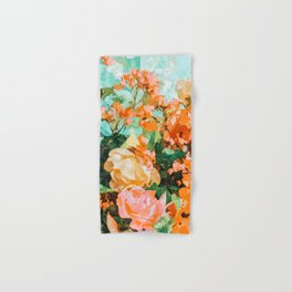 Blush Garden #painting #nature #floral Hand & Bath Towel