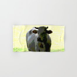Cow Hand & Bath Towel