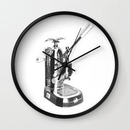 Romantica La Pavoni Professional Lever Espresso Machine Wall Clock