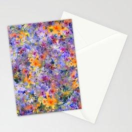 Yellow Primrose Garden Stationery Cards