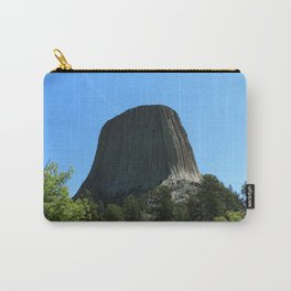 Devils Tower Rising Into The Sky Carry-All Pouch