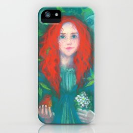 Child of the forest iPhone Case