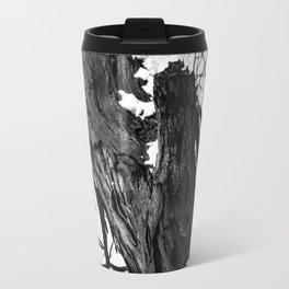Bark and snow Travel Mug